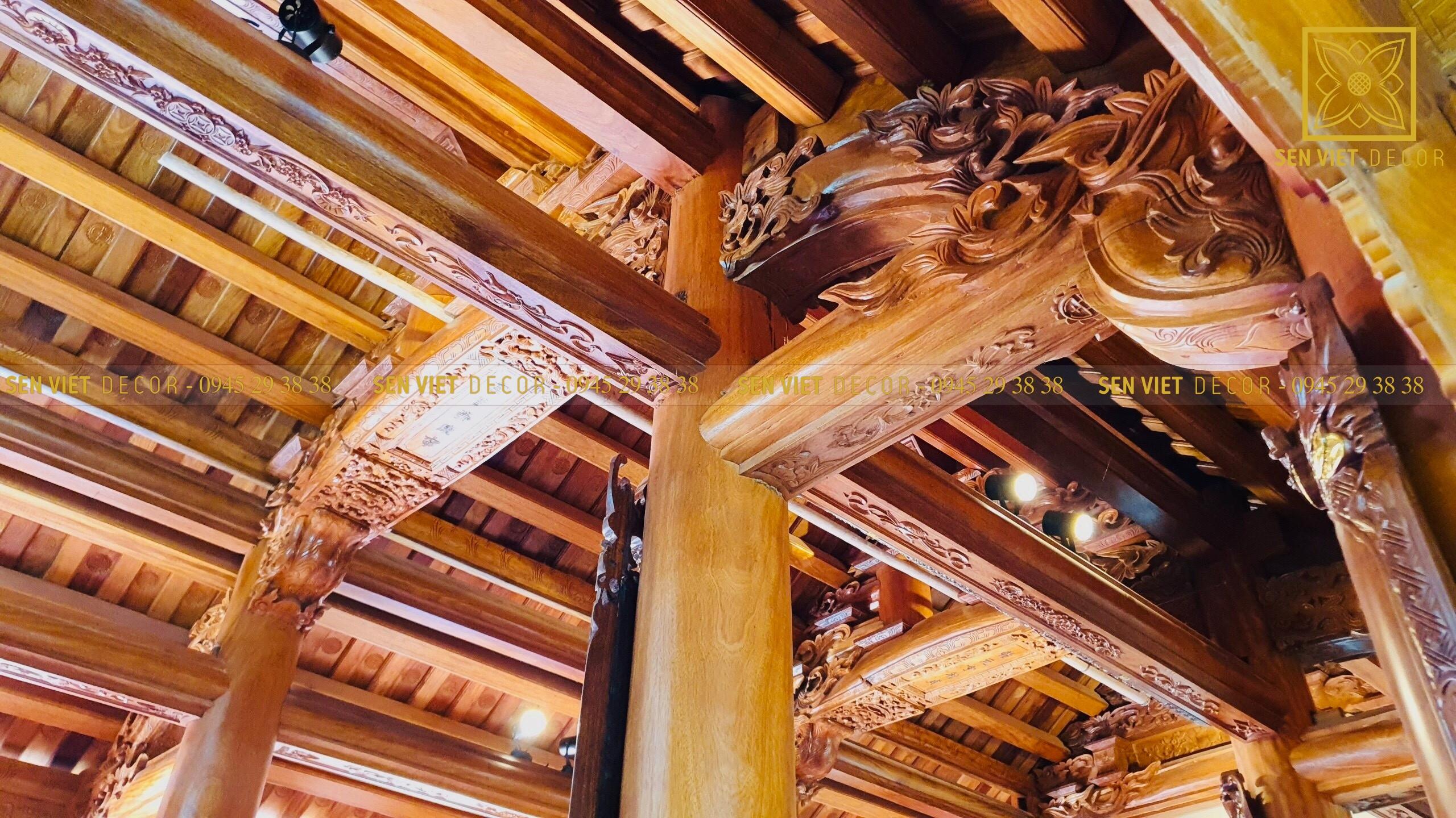 Thiết kế nhà gỗ kết hợp nhà ở