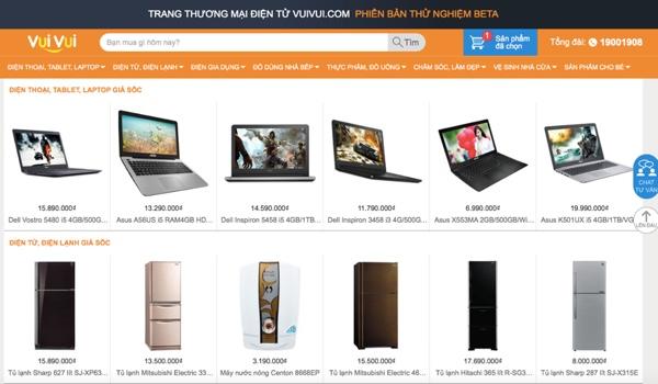 Thế Giới Di Động mở trang thương mại điện tử, cạnh tranh với Lazada, Tiki
