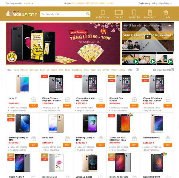 Hệ thống bán lẻ di động MobileCity