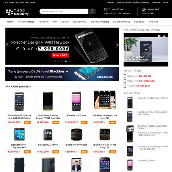 Hệ Thống Thế Giới Blackberry
