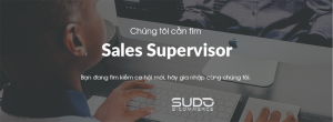 Tuyển dụng Sales Sub (Sales Supervisor)