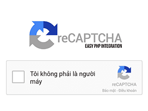 Hướng dẫn tích hợp reCaptcha của google vào Form