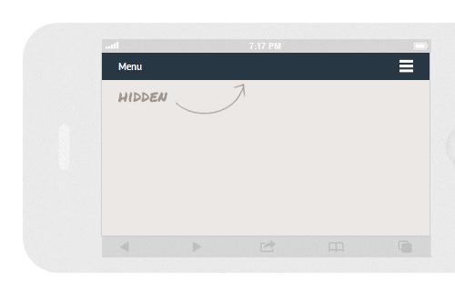 Các thiết kế HTML, CSS, JS cực chất cho Menu Navigation Responsive