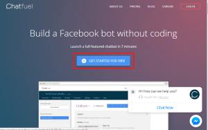 Hướng dẫn sử dụng công cụ công cụ Chatbot Chatfuel
