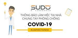 Thông báo triển khai làm việc trực tuyến, phòng dịch Covid-19