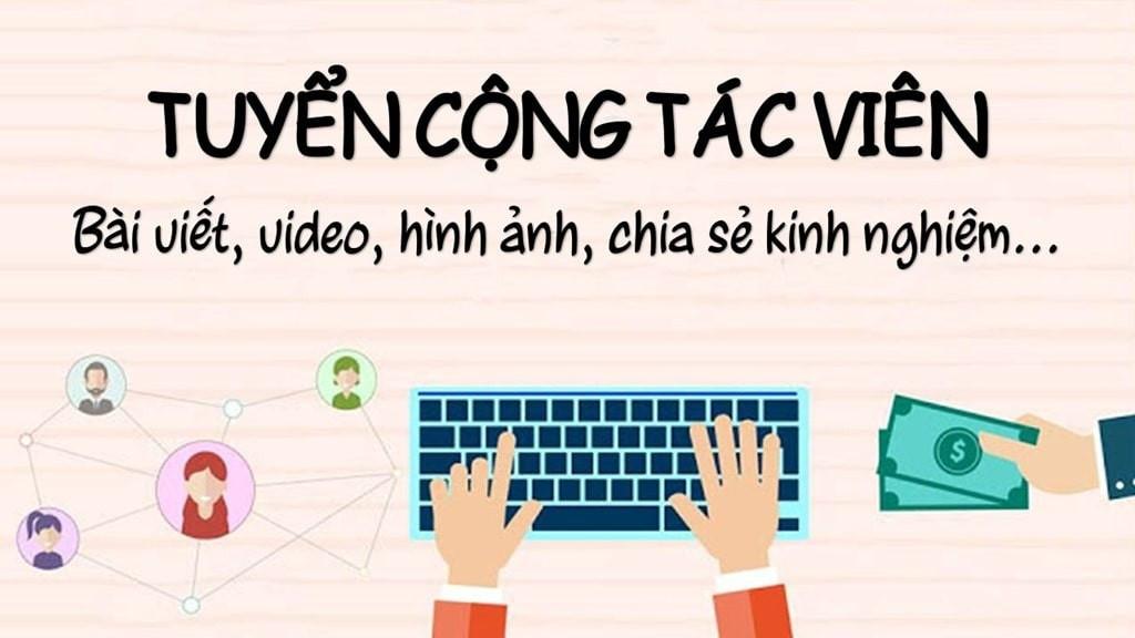 Tuyển dụng thực tập sinh/ cộng tác viên content, quản lý nội dung tại Hà Nội