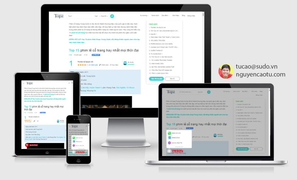 Share code chèn nút gọi điện thoại, chat zalo vào Website