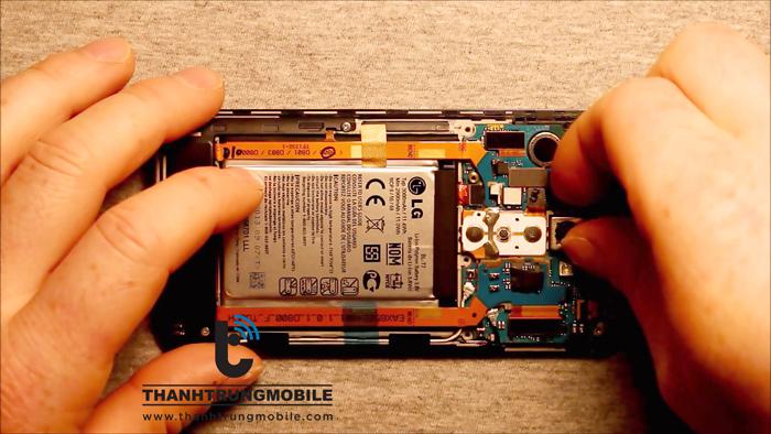 Thay mặt kính LG Optimus G F180