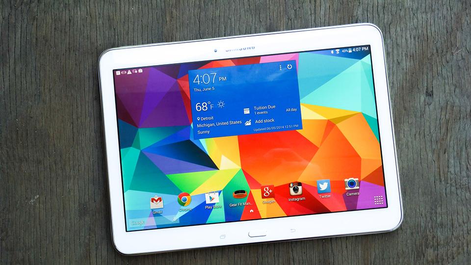 Xuất hiện thông số cấu hình của máy tính bảng Galaxy Tab 4 Advanced sắp được Samsung trình làng