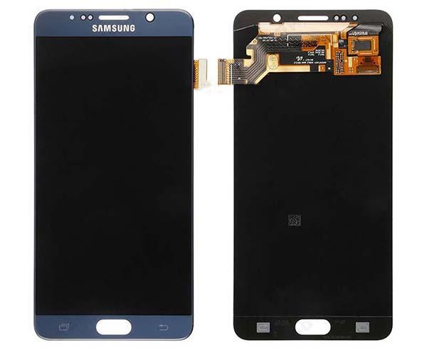 Màn hình Samsusng Galaxy Note 5 màu đen