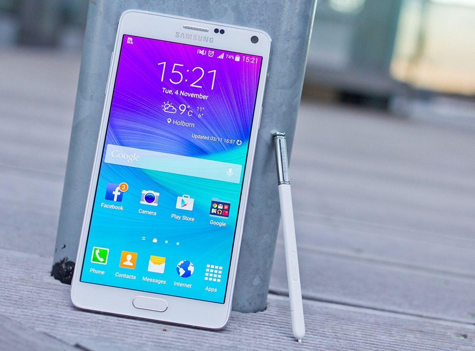 Samsung galaxy Note 4 cũ liệu đã lỗi mốt vào thời điểm này?