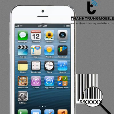 Sửa iPhone 6, 6 Plus mất IMEI