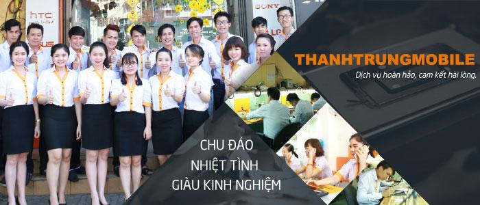 Đội ngũ nhân viên Thành Trung luôn sẵn lòng hỗ trợ khách hàng