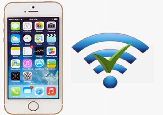 iPhone 5S yếu Wifi