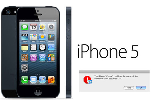 Cách khắc phục khi iPhone 5 restore lỗi 14