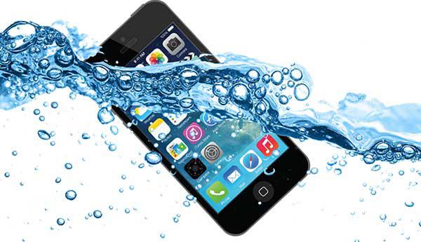 iPhone bị vào nước