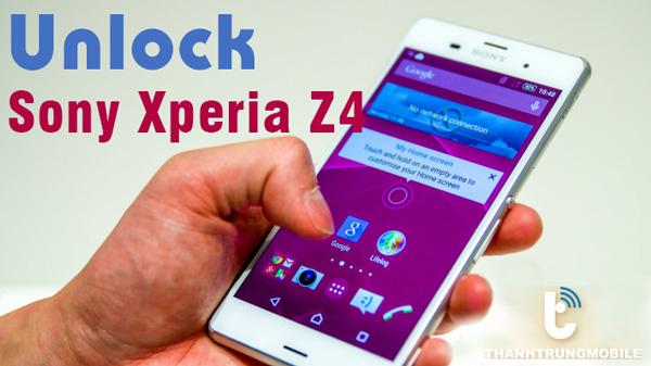 Thành Trung Mobile Unlock Sony Xperia Z4