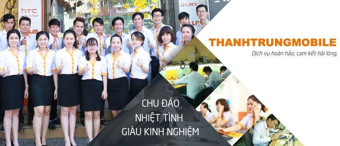 Đội ngũ nhân viên Thành Trung Mobile hân hạnh được phục vụ quý khách