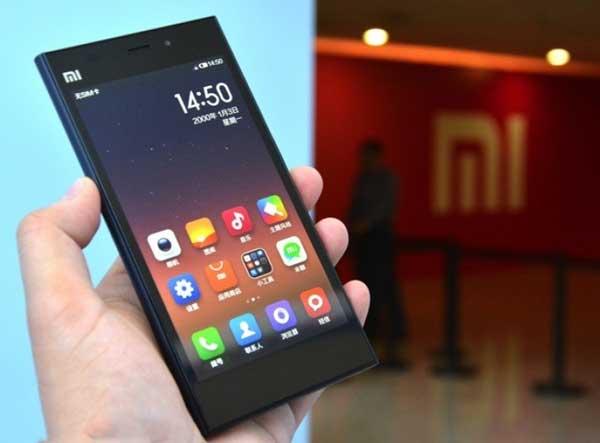 Hình ảnh: Điện thoại Xiaomi Mi3 sành điệu