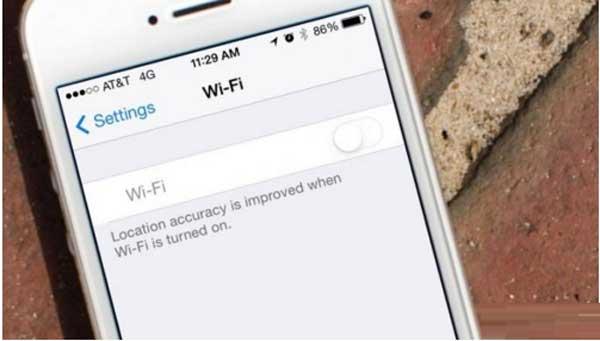 iPhone 6 Plus không thể bắt được Wifi