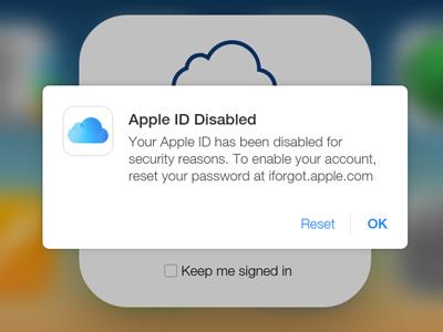 Khôi phục tài khoản Apple ID bị khóa trong 3 nốt nhạc