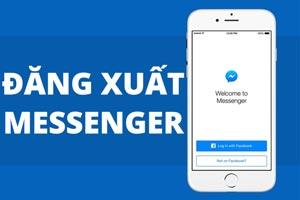 Hướng dẫn cách đăng xuất messenger trên iPhone