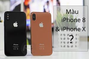 iPhone 8 có mấy màu, đó là những màu gì?