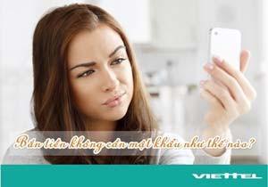 Hướng dẫn cách bắn tiền Viettel không cần mật khẩu