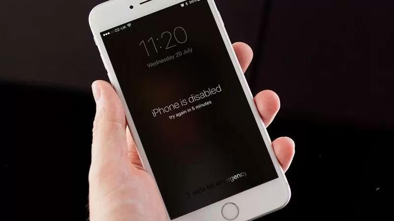 Khắc phục iPhone bị vô hiệu hóa vì nhập sai mật khẩu quá nhiều lần