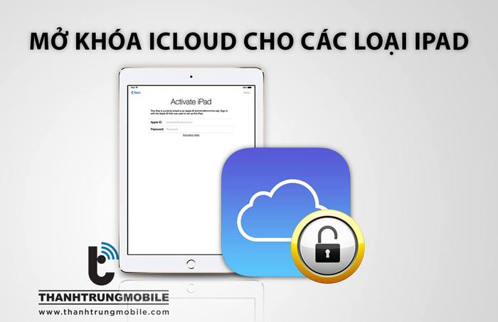 Bẻ khóa, mở khóa icloud ipad mini