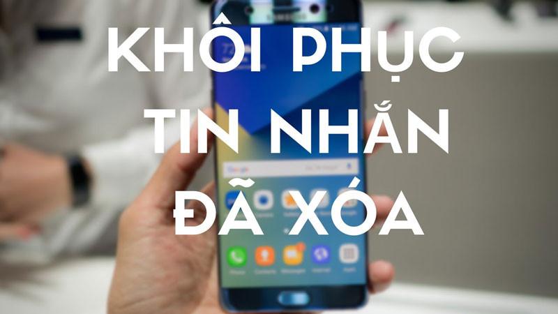 Cách xem tin nhắn đã xoá trên iPhone 7