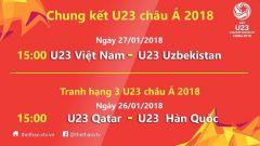 Link xem trực tiếp U23 Việt Nam – U23 Uzbekistan (Chung kết)