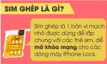 Sim Ghép iPhone là gì? Sim ghép thần thánh là gì?