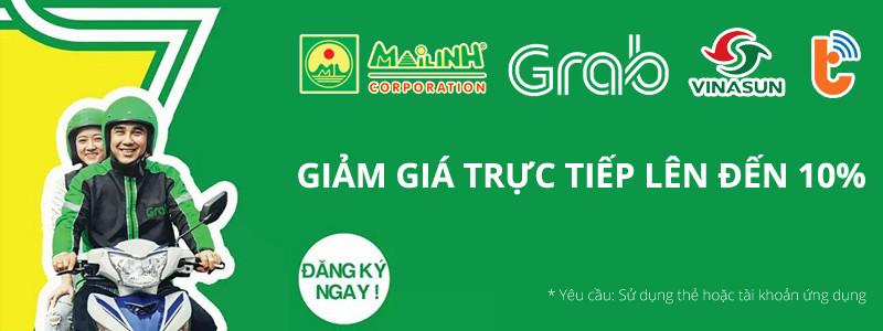 Chương trình Ưu đãi dành cho tài xế Grab, Vinasun, Mai Linh (Cả Taxi và Bike)
