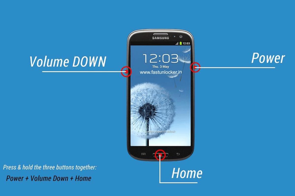 Hướng dẫn chạy lại phần mềm điện thoại Samsung vô cùng đơn giản