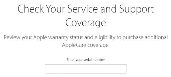 Check bảo hành iphone bằng IMEI