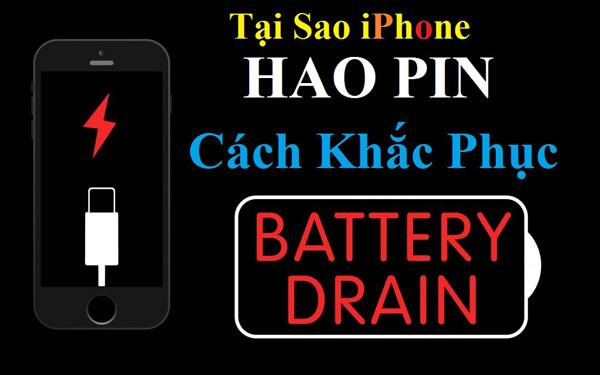 Tại Sao iPhone Bị Hao Pin Nhanh và Cách Khắc Phục