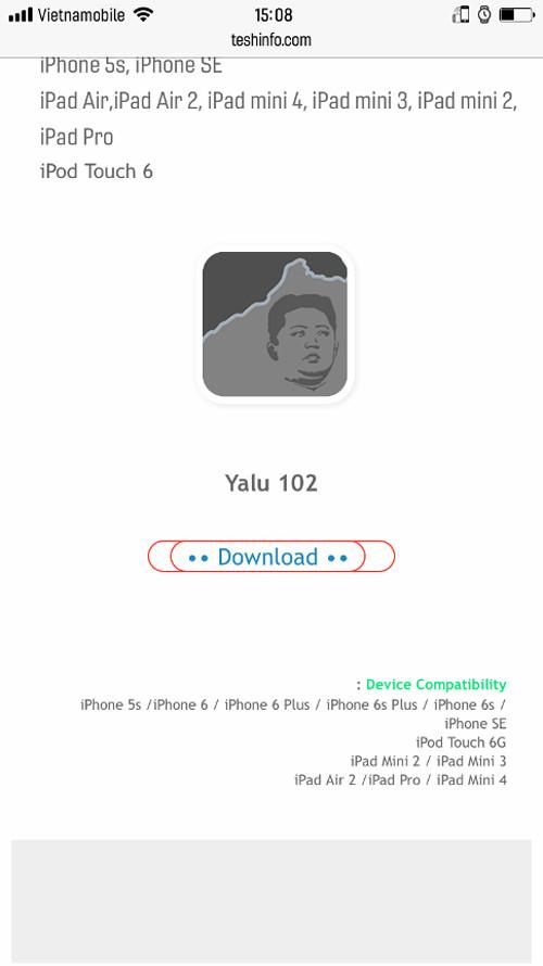 Hướng dẫn Jailbreak iOS 10-10 2 ngay trên điện thoại iPhone