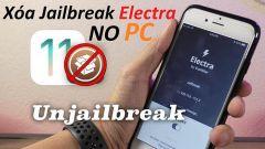 Hướng Dẫn Xóa Jailbreak Electra 11.2-11.3.1 Trực Tiếp Ngay Trên iPhone
