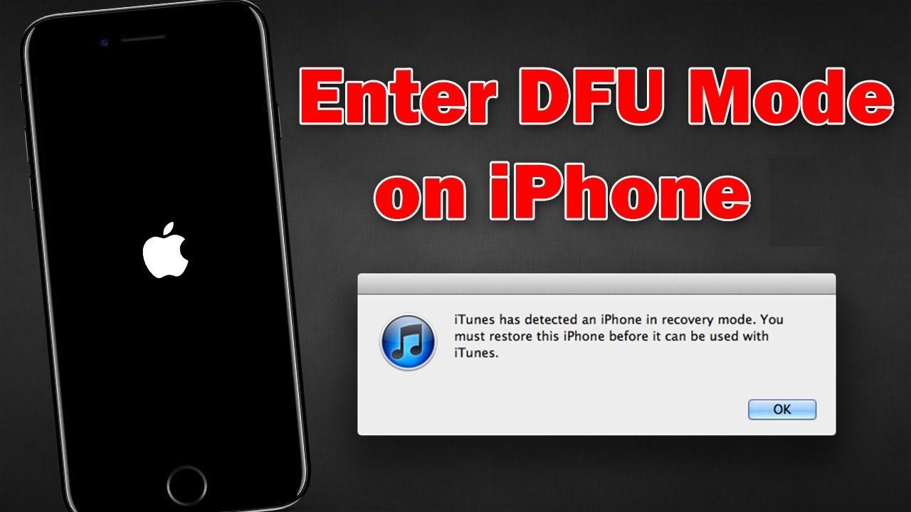 DFU mode là gì? Đưa iPhone về DFU thế nào?