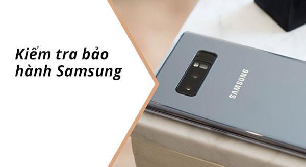 Hướng dẫn kích hoạt bảo hành Samsung