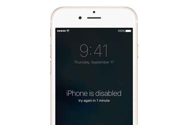 Bạn quên passcode iPhone 6, làm sao bây giờ?