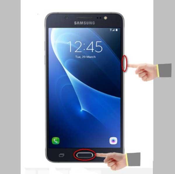 Cách Chụp Màn Hình Samsung J5