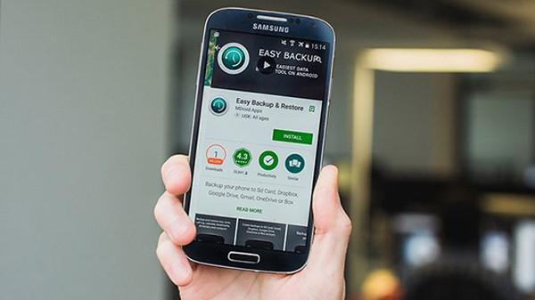 Hướng dẫn cách sao lưu dữ liệu trên điện thoại Android