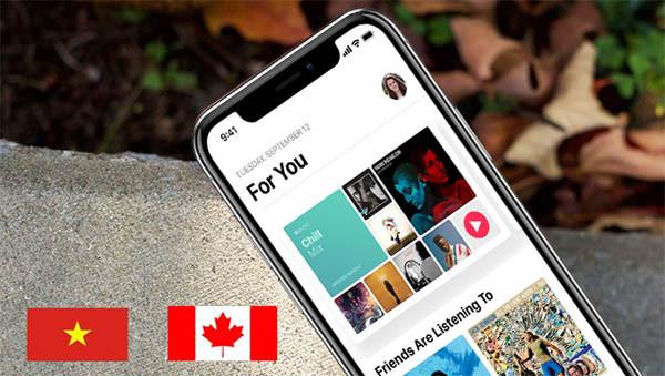 Hướng Dẫn Chuyển Vùng ID Apple Không Visa Chỉ Với 6 Bước