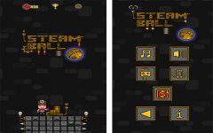 SteamBall - Game đồ họa 8 bit, gây ức chế gần bằng Flappy Birds mới chỉ có trên iOS
