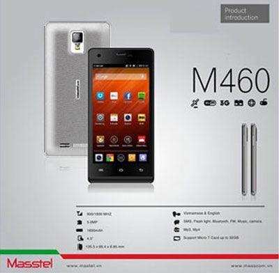 Thay mặt kính cảm ứng Masstel M460