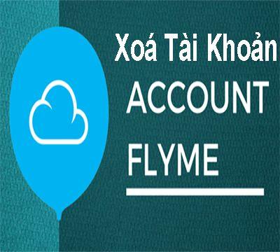 Xóa tài khoản Flyme