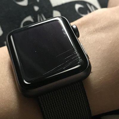 Đánh bóng, xóa trầy mặt kính Apple Watch 1, 2, 3, 4