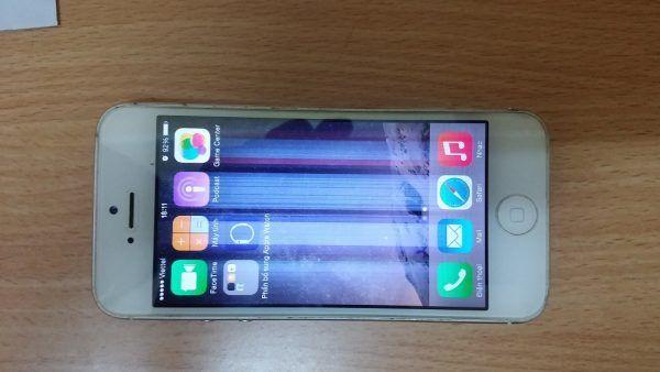 Lỗi màn hình iPhone 5 bị sọc dọc, sọc ngang, sọc đen